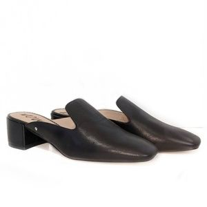 NWOB SAM EDELMAN leather mules